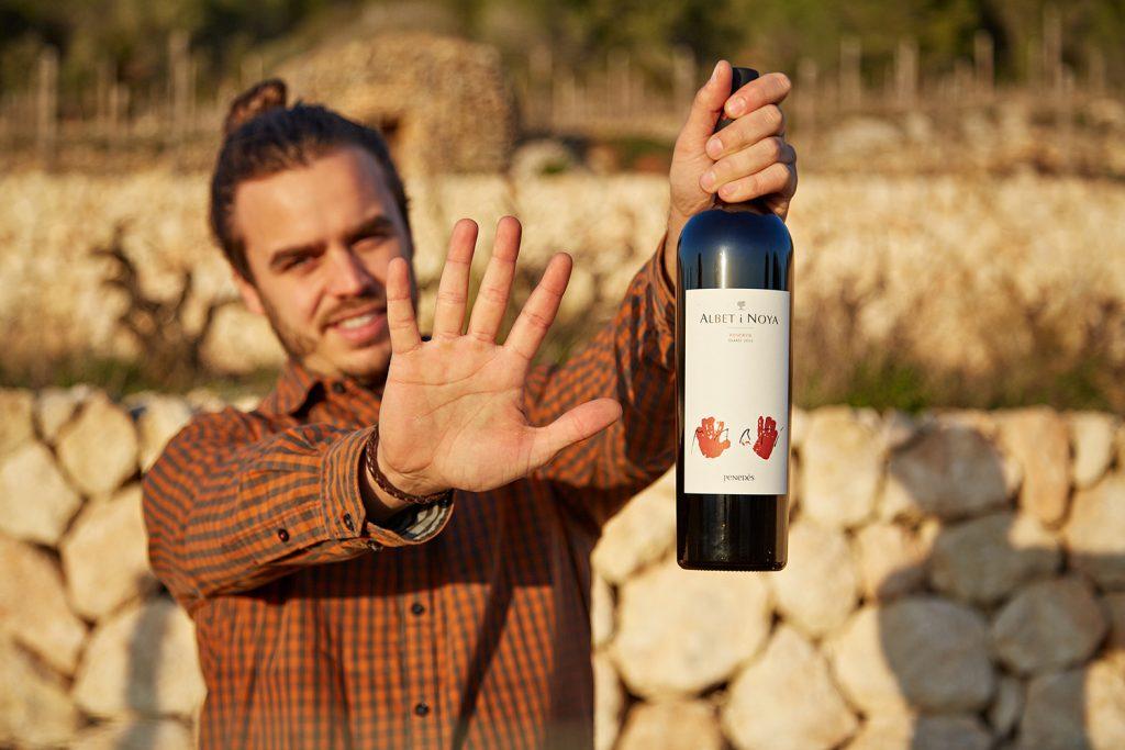 Reserva Martí, el millor vi negre d'Albet i Noya. vi ecològic.