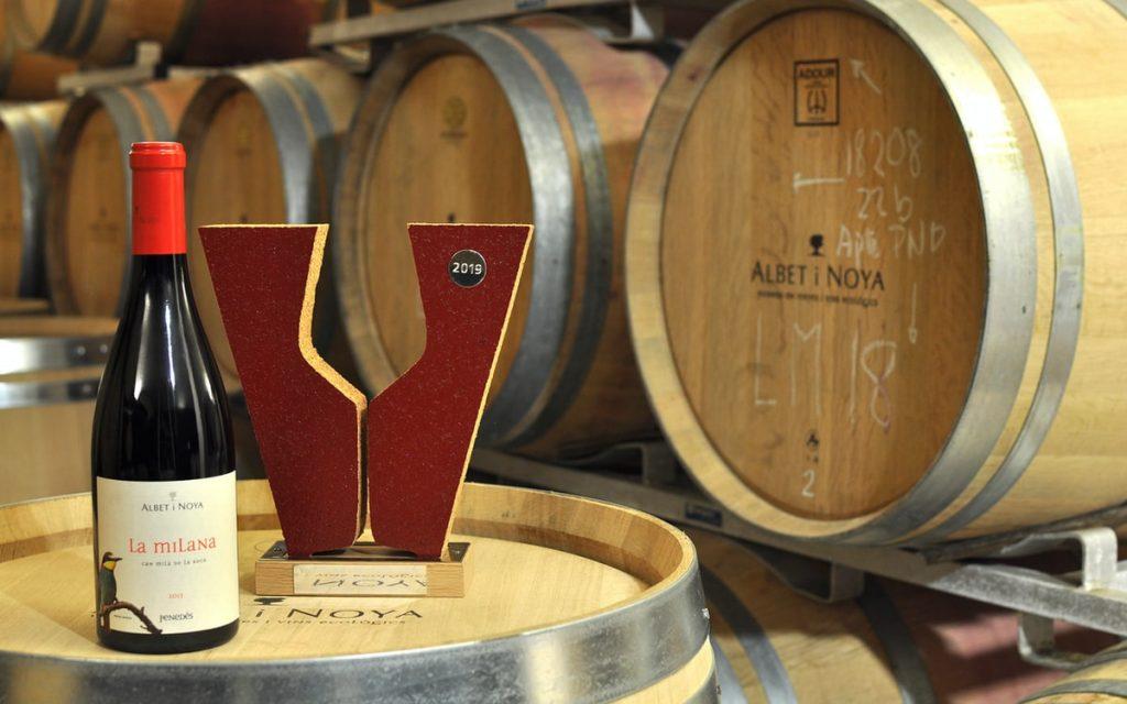 vins ecològics la Milana premi Vinari