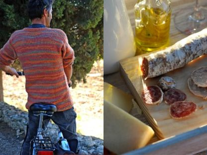 ruta bicleta dinar Visita con E-cobike + ecobrunch