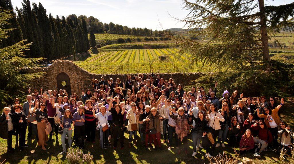 dia de la dona, visita al celler, vins ecològics