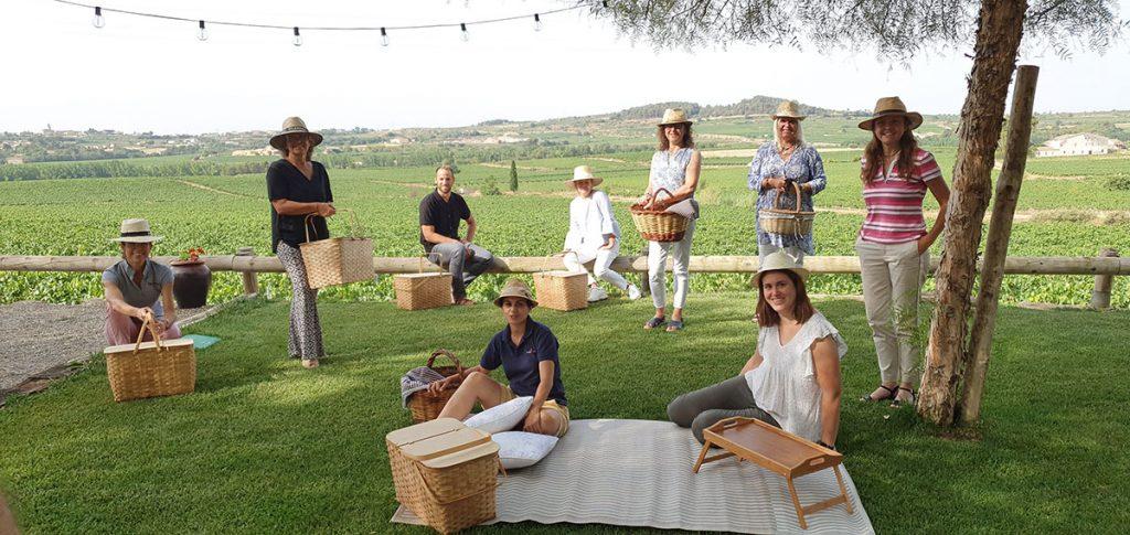 picnic entre vinyes penedes